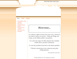 emilie-esthetique.fr screenshot