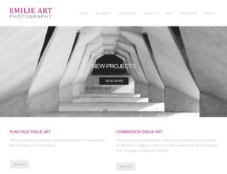 emilieart.com screenshot