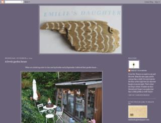 emiliesdaughter.blogspot.nl screenshot