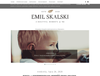 emilskalski.pl screenshot