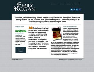 emilyrogan.com screenshot