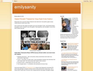 emilysanity.blogspot.com screenshot