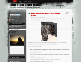 emilystonecrimewatch.wordpress.com screenshot