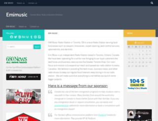 emimusic.ca screenshot