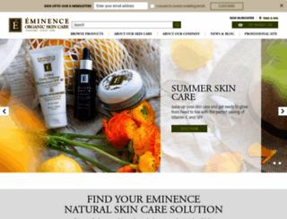eminenceorganics.com screenshot