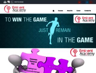eminentacademy.com screenshot
