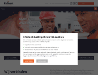 eminentgroep.nl screenshot