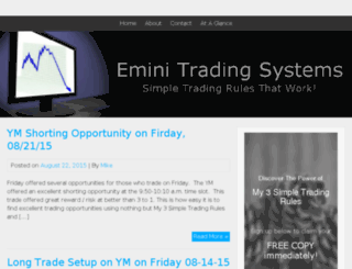 eminitradingsystems.com screenshot