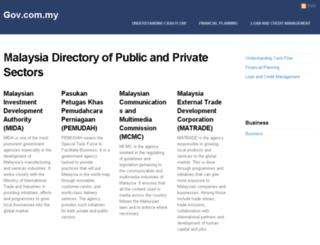 emis.gov.com.my screenshot