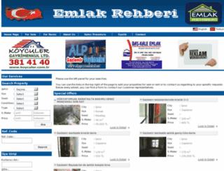 emlak-rehberi.org screenshot