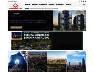 emlakdream.com screenshot