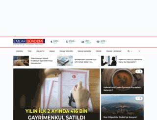 emlakgundemi.com.tr screenshot