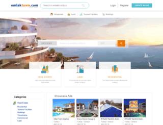 emlaktown.com screenshot