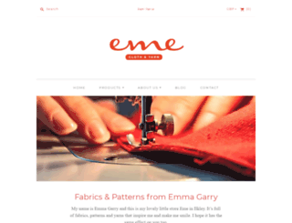 emmagarry.com screenshot