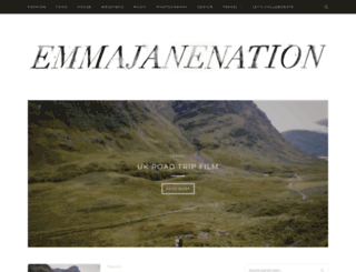 emmajanenation.com screenshot