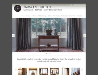 emmajschofield.com screenshot