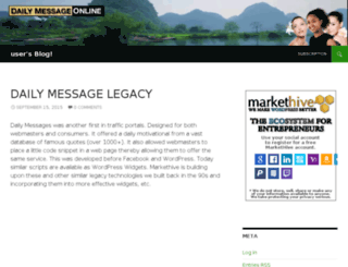 emmalott.dailymessageonline.com screenshot