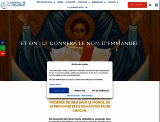 emmanuel.info screenshot