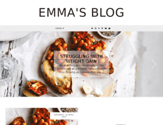 emmasblog.co.uk screenshot