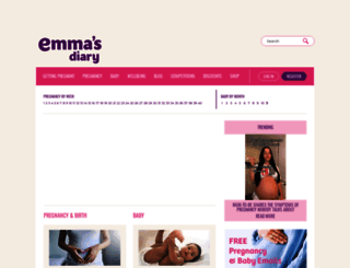 emmasdiary.co.uk screenshot