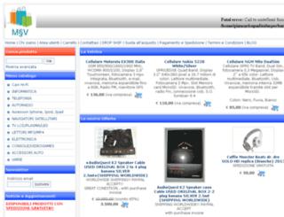 emmevu-store.it screenshot