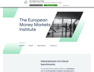 emmi-benchmarks.eu screenshot