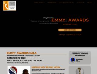 emmymid-america.org screenshot