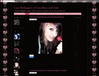 emo-wallpapers.blogspot.com screenshot
