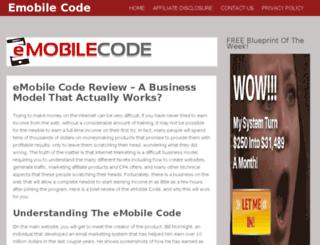 emobilecode.org screenshot