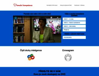 emocnikompetence.cz screenshot