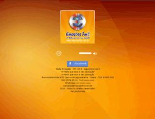 emocoesfm.com.br screenshot