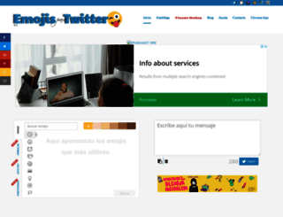 emojistwitter.com screenshot