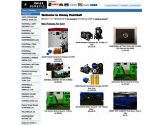 emoneypaintball.net screenshot