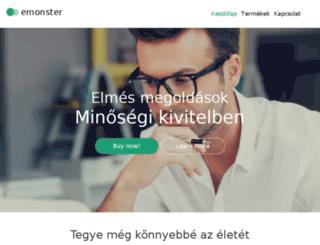 emonster.hu screenshot