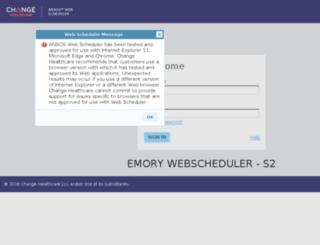 emorywsm.myonestaff.com screenshot