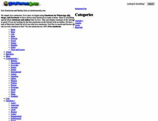 emoticonsonly.com screenshot