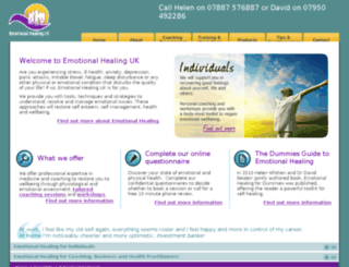 emotionalhealinguk.com screenshot