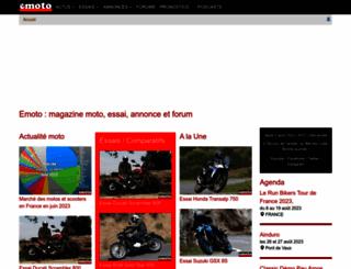 emoto.com screenshot