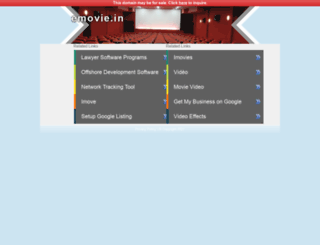 emovie.in screenshot