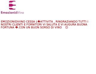 emozionidivino.com screenshot