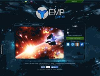 emp-game.ru screenshot