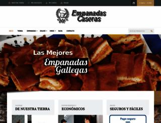 empanadascaserasxe.com screenshot
