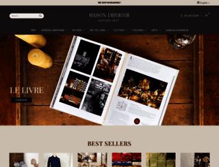 empereur.fr screenshot