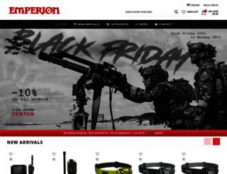 emperionstore.com screenshot