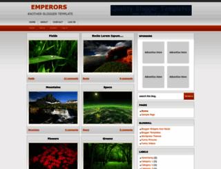 emperors-template.blogspot.com screenshot