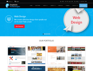 emphatictechnologies.com screenshot