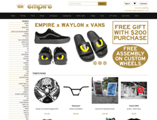 empirebmx.com screenshot