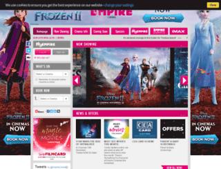 empirecinemas.co.uk screenshot