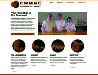 empireinsurance.co screenshot
