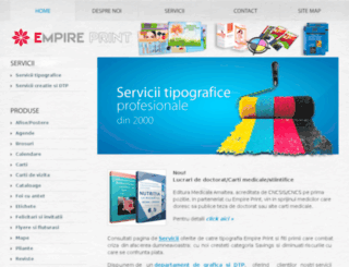 empireprint.ro screenshot